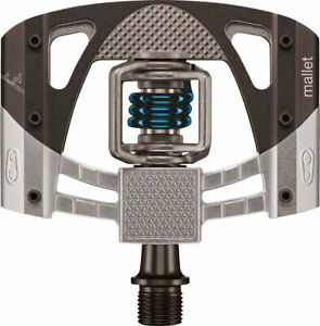 Crank Brothers Mallet 3 Pedals - Dual Sided Clipless with Platform, Aluminum,