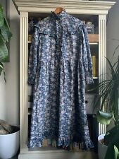 Vintage Laura Ashley Prairie Dress Uk 12 - Fits Modern 12-14.