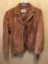 Wilsons  Leather Maxima Womens Large Jacket Tan