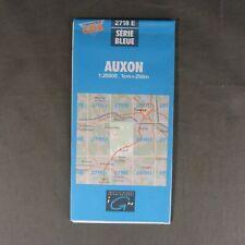 Carte IGN 2718 E - Série Bleue - Auxon ( Aube )