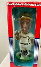 Roberto Clemente Hand Painted 8 inch Bobble head doll NICE