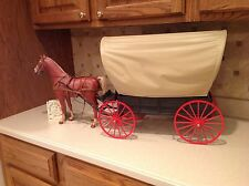 Marx Vintage Stage Coach Chuck Wagon Horse RARE Find Outstanding Johnny West