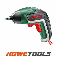 "BOSCH GREEN IXO 5 Integral battery Screwdriver 1/4"" hex drive"