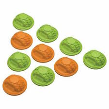 Axial AX12014 Gate Marker Set Green/Orange (10)