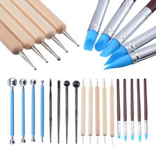 18pcs Clay Sculpting Carving Pottery Tools Polymer Modeling DIY Sculpture Craft