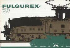 catalogo FULGUREX 1979 Messing Modelle HO O              F D  aa