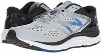 New Balance Men's Shoes 840v4 Fabric Low Top Lace Up Trail, Grey/Blue, Size 8.0
