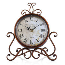 Metal Bell Alarm Clock Vintage Retro Loud Clocks Desk Bedside Room Gift Ideas