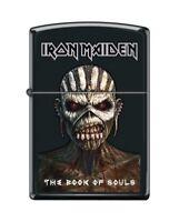 Zippo 3344 Iron Maiden Book of Souls Black Matte Finish Full Size Lighter