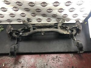 2012 VW VOLKSWAGEN SHARAN 7N MK2 COMPLETE REAR AXLE SUBFRAME WITH HUBS & ARMS
