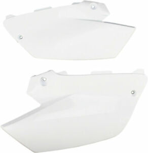 UFO Side Panels (Pair) Restyle White For Yamaha YZ 125 250 02-12 Restyle