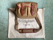 Billingham Hadley (small) camera bag (khaki canvas/tan leather) with accessories