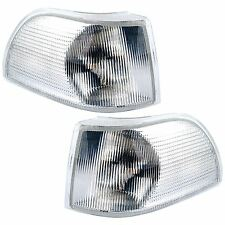 VOLVO S70 1996-2000 FRONT INDICATORS CLEAR 1 PAIR O/S & N/S
