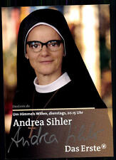 Andrea Sihler Um Himmels Willen Autogrammkarte Original Signiert## BC 9035