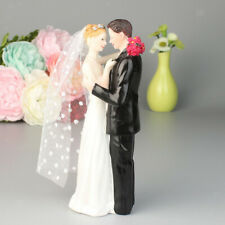 LOVE BRIDE AND GROOM COUPLE FIGURINE WEDDING CAKE TOPPER FIGURINES