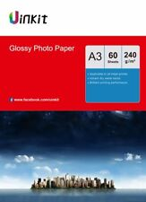 A3 Photo Paper High Glossy 240Gsm Inkjet Paper Photography Paper - 60 Sheets AU