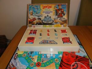 CAPTAIN SCARLET AND THE MYSTERONS ADVENTURE BOARD GAME complete