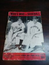 Who's Who in Baseball 33rd Edition 1948 Ralph Kiner and John Mize cover