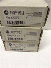 Allen Bradley Center Jumpers 1492-CJLJ5-10 Box of 20