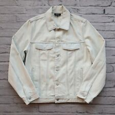APC Denim Trucker Jacket Size M Light Wash