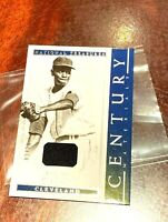 2018 Panini National Treasures Satchel Paige Jersey Relic century materials /20