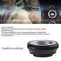M42-NX M42 Thread Lens to NX Mount Camera Lens Adapter Ring for Samsung NX11/10