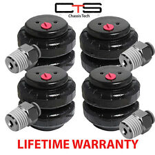 "#2500 Air Bags Springs Suspension Set of 4 With 3/8"" Push Lock Fittings"