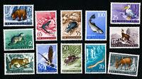 Yugoslavia Stamps # 398-409 XF OG LH Catalog Value $125.00