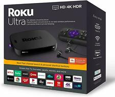 Brand New Roku Ultra Hd 4K Media Streamer 4670R (Latest 2019 Edition) - Black