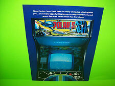 Taito POLARIS 1980 Original Video Arcade Game Promo Sales Flyer Advertising