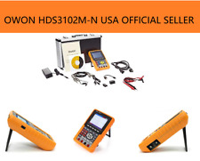 Owon HDS3102M-N Handheld Digital Storage Oscilloscope & Multimeter, 100MHz, 2CH