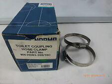 Norma HD-83-105/16W4 Stainless Steel Toilet Hose Clamps 83x105mm- Box of 10 New