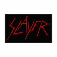 """SLAYER - """"LOGO""""- WOVEN SEW ON PATCH - OFFICIAL"""