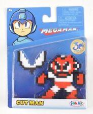 Mega Man Cut Man 8-bit Figure 30th Anniversary Capcom, slight package damage
