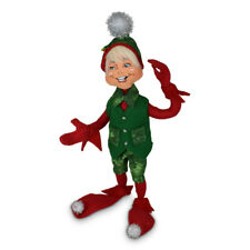 Annalee Dolls 2021 Christmas 12in Evergreen Elf Plush New with Tag
