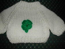 St Patrick's Day  Doll Clothes Sweater fits American Girl Dolls