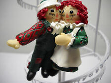 RAGGEDY ANN & ANDY*Hanging ORNAMENT*Ltd Edition Collectible 1998 ~FREE SHIPPING~