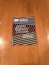Booklist Magazine 1/1/10 - 1/15/10 2009 Editors Choice Vol. 106  Rare