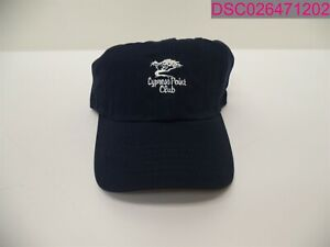 QTY=12; Imperial Sports Navy Blue Hat One Size WPL285 Cypress Point Club