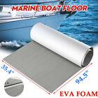 Gray Eva Foam Boat Marine Yacht Car Deluxe Flooring Mat Faux Teak Decking Pad