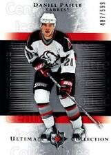 2005-06 UD Ultimate Collection #137 Daniel Paille