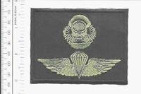 Force RECON US Marine Corps USMC Force-RECON SCUBA Airborne Badge Black acu med