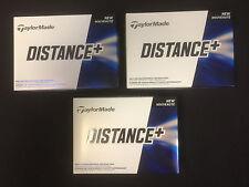 TaylorMade Distance + 3 Dozen White Golf Balls #8977     Soft: 60 Compression