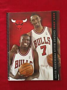 2004-2005 NBA Chicago Bulls preseason media guide / Deng / Gordon / Pippen