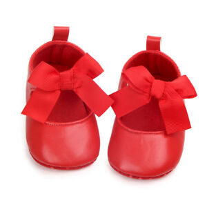 Toddler Baby Girl Shoes Party Princess shoes Soft Sole Shoes First Walkers 0-12M