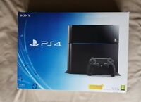 PS4 500GB Black Console + Official Controller + FIFA 19 Game - Boxed
