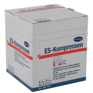 ES-Kompressen Wundkompressen Kählkompresse Produktsortiment von Hartmann