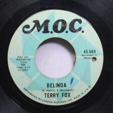 Rock 45 Terry Fox - Belinda / Leave Us Along On M.O.C