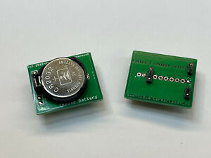 Frank's Gottlieb System 3 Pinball Machines CR2032 Battery Board Direct Fit! NEW!
