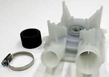 WHIRLPOOL WASHING MACHINE DRAIN PUMP SMALL & LARGE OUTLET 3363394 SEI3363394A
